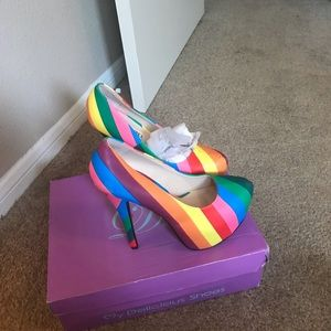 Brand New Lolli couture platform